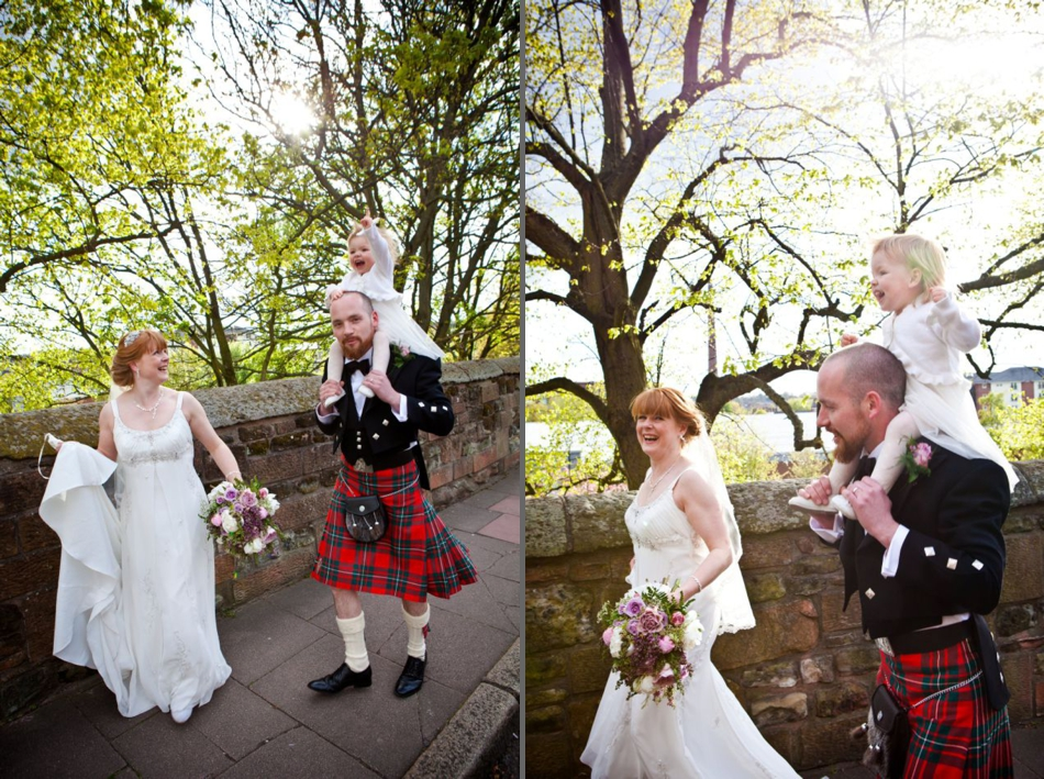 Rustic & Country Chic Scottish Real Weddings