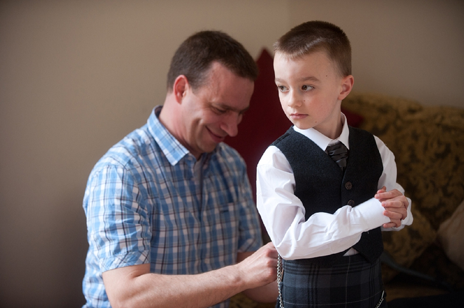 Stylish Page Boy Outfits For Your Scottish Wedding