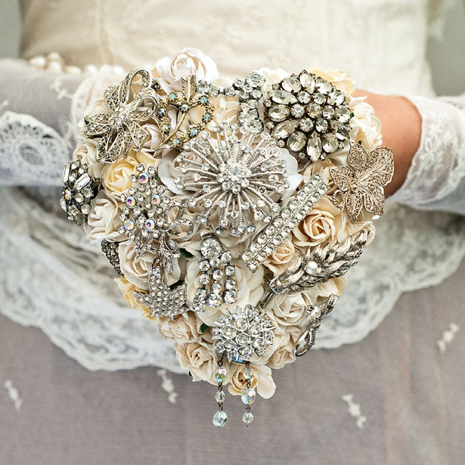 For Your Wedding Bouquet Then How About Having A Made From Vintage Brooches You Could Have One Or Even Start To Collect Some Of