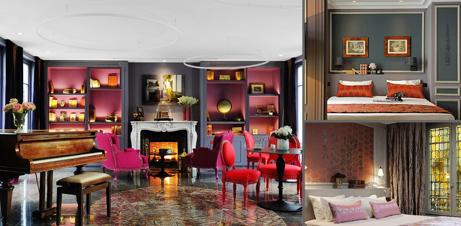 If Visiting Paris Wasnu0027t Already Romantic Enough, How About Staying In A  Beautiful Boutique Hotel In Saint Germain Des Prés? La Belle Juliette Is  Full Of ...