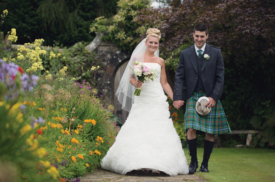 Scottish Garden Wedding With DIY Details And Rustic