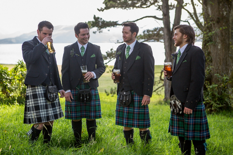 Scottish Island Wedding On Isle Of Raasay, Filled With DIY