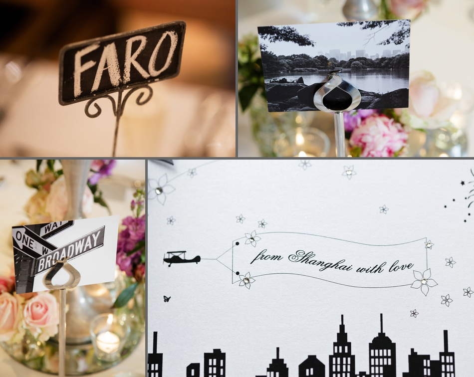 travel theme wedding