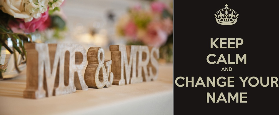 Name changing or not for marriage