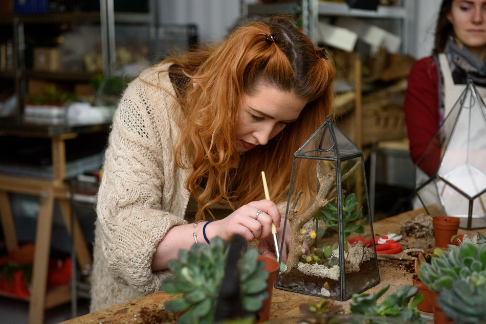 Little Botanica Terrarium Making Workshop Glasgow1