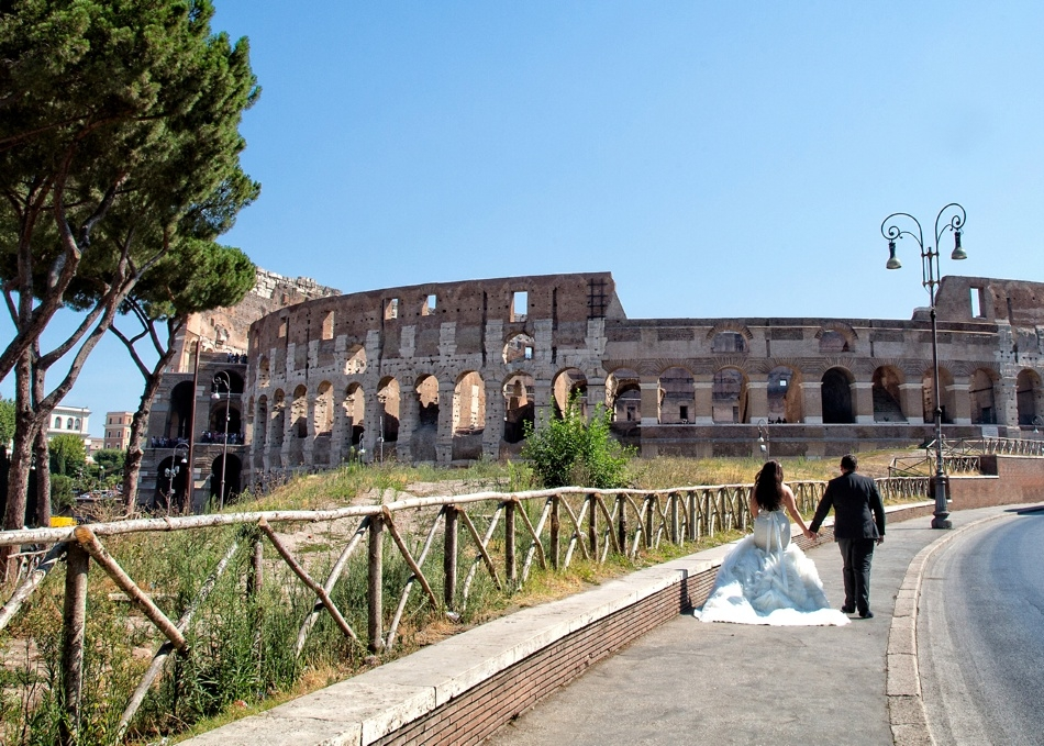 Scottish italian destination wedding in rome we fell in for Top rated destination wedding locations