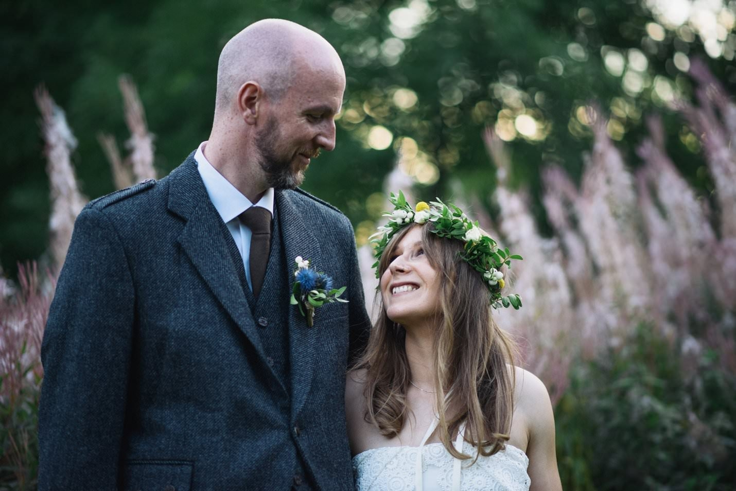 Laid back and natural outdoor wedding at the Craigellachie Hotel in ...