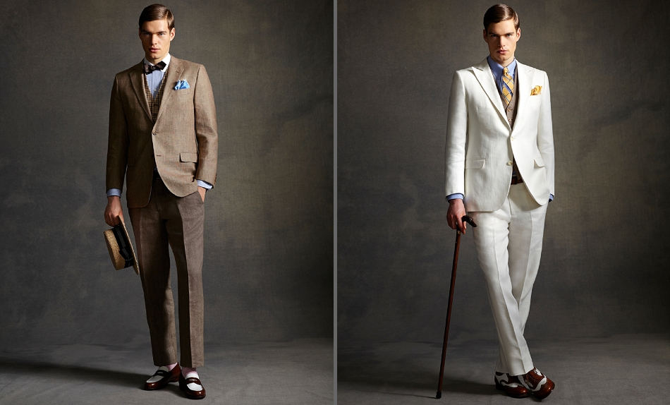 Groom Style - 1920s inspired menswear wedding outfits 45af504a5f70