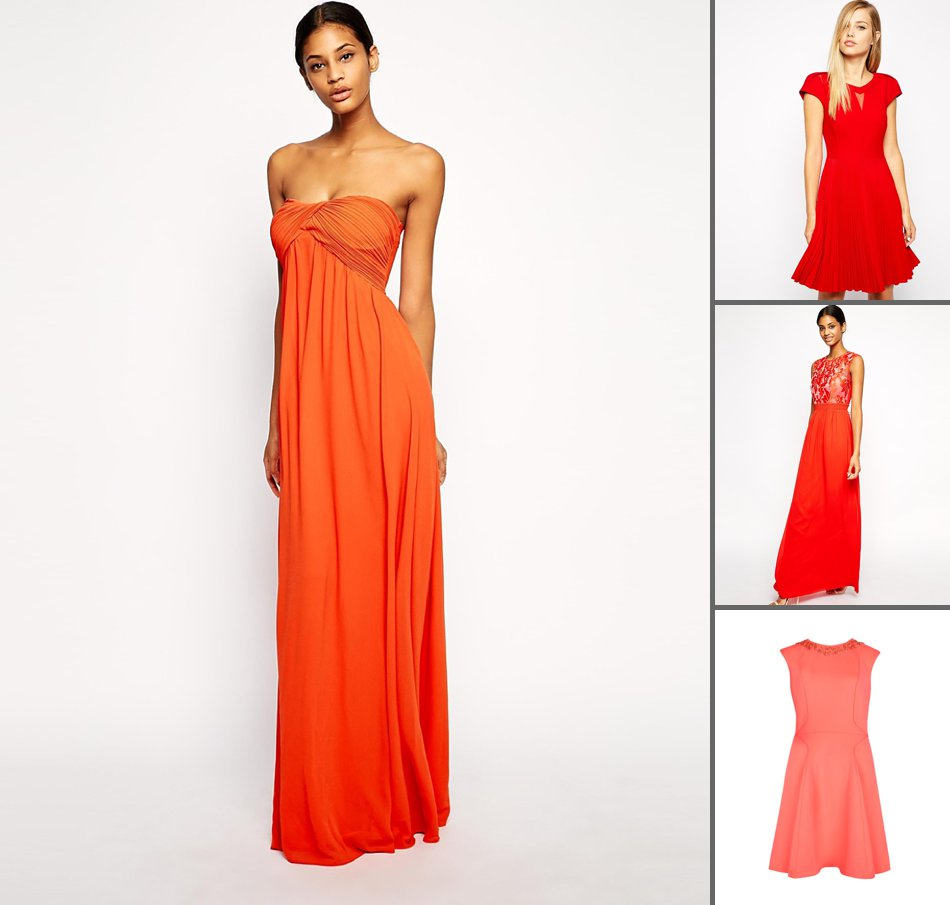 Burnt Orange Bridesmaid Dresses Raveitsafe