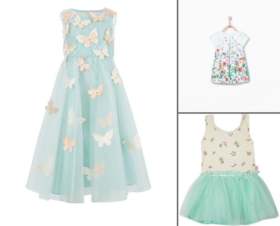 3e49cb6915a Cute and colourful dresses for flower girls