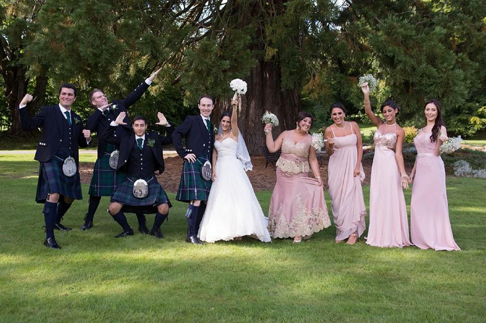 Scottish Lebanese Wedding With Bridal Manolos And A Ronald
