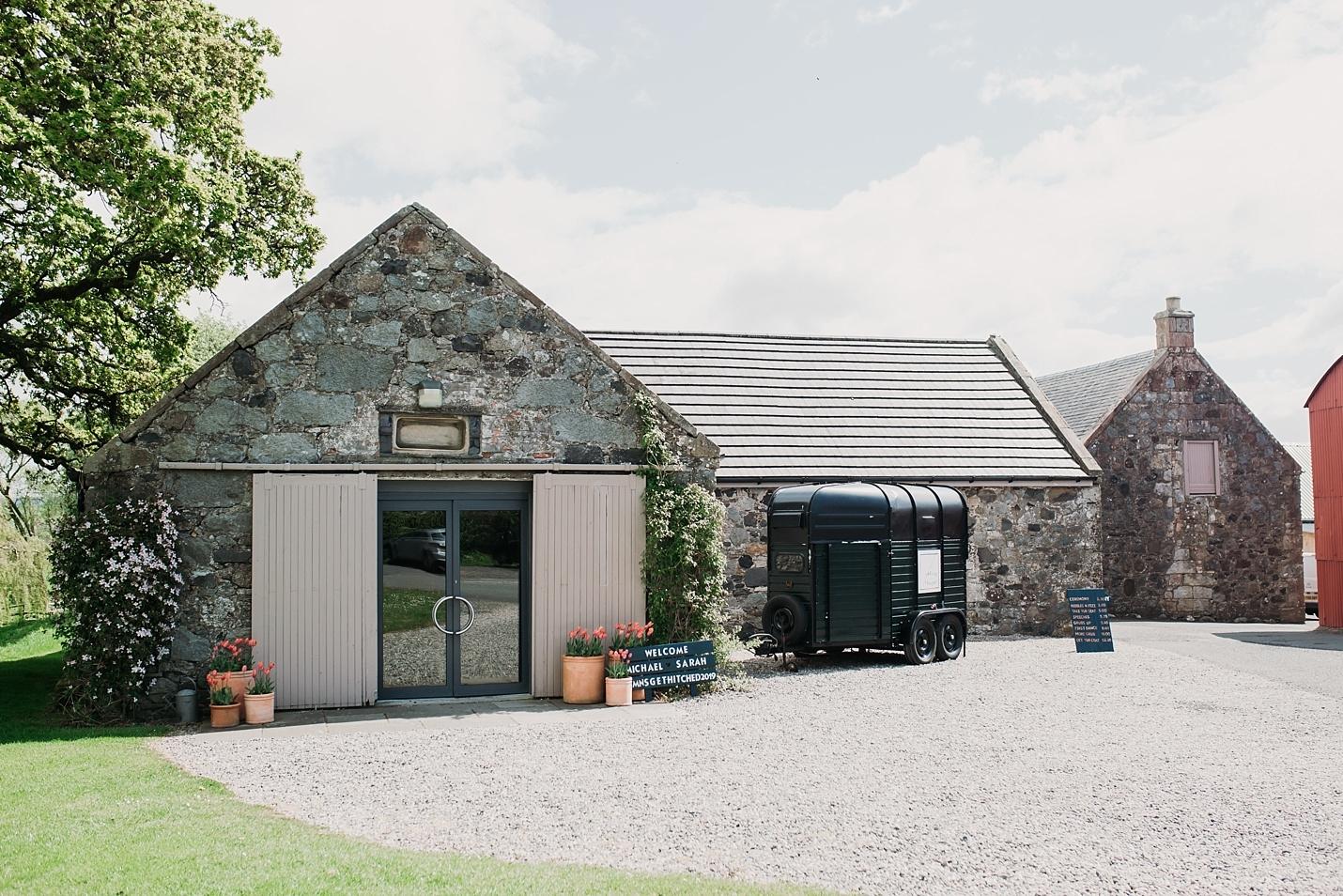 A rustic barn wedding at Dalduff Farm, Ayrshire, Scotland